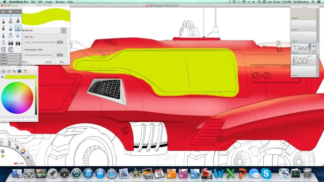 Firetruck render process