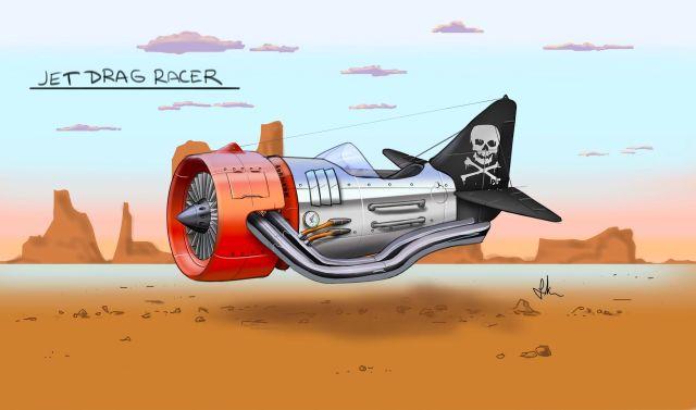 Jet Drag Racer